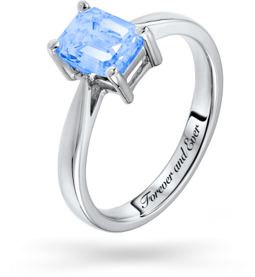 Ring with customized name