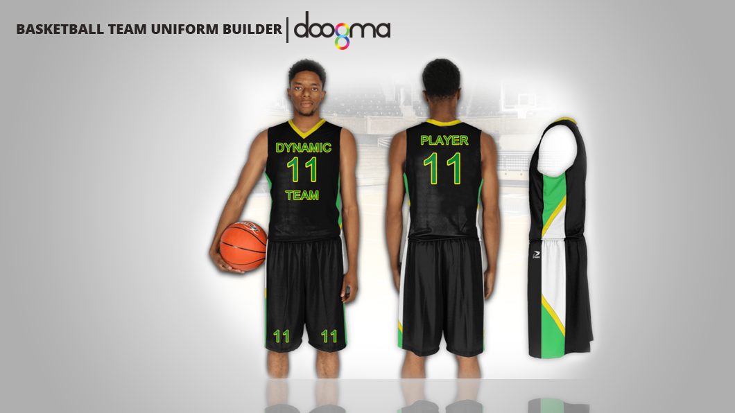 Basketball Team Uniform Builder