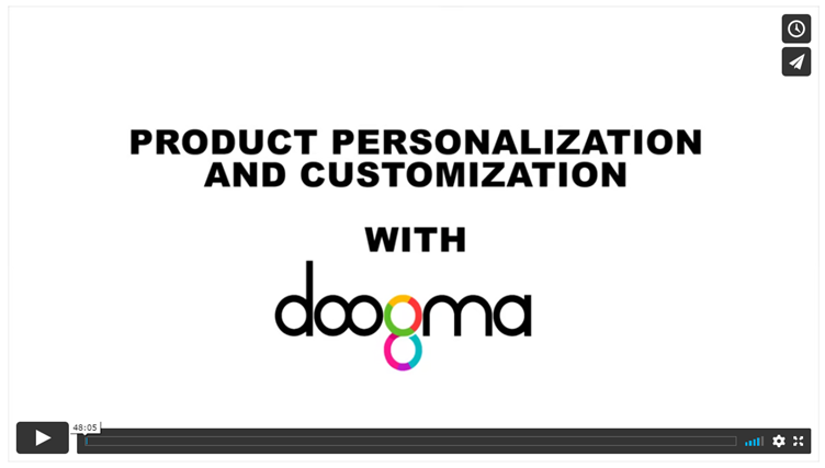 Introduction to Product Personalization and Customization with Doogma